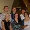 Group photo from engagement